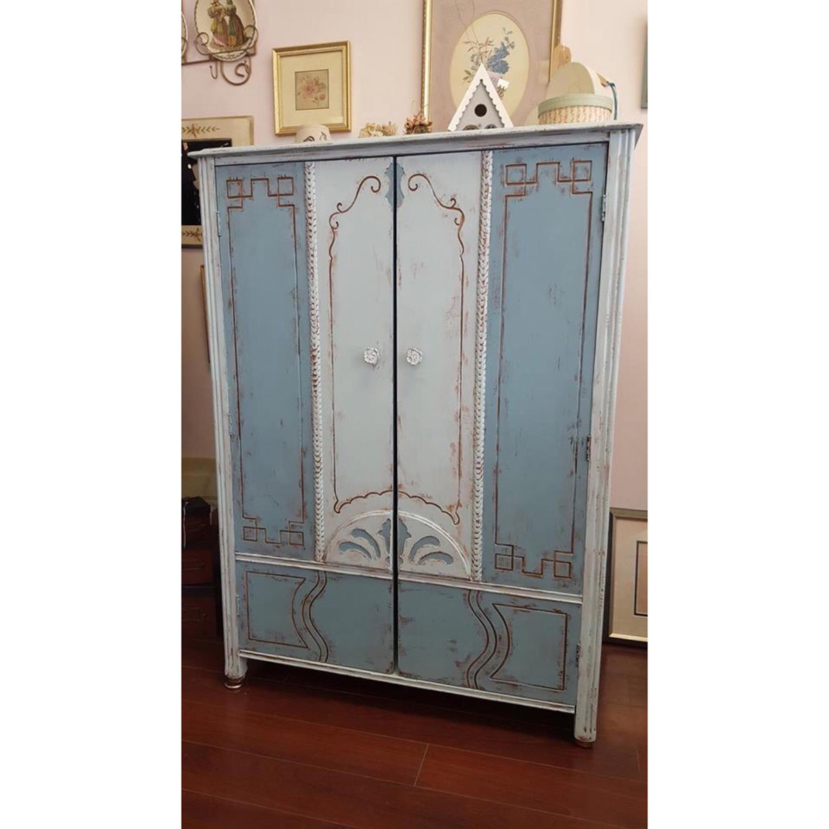 Child's Armoire | My Shabby Cottage